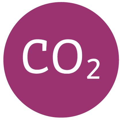 Co2 illustration