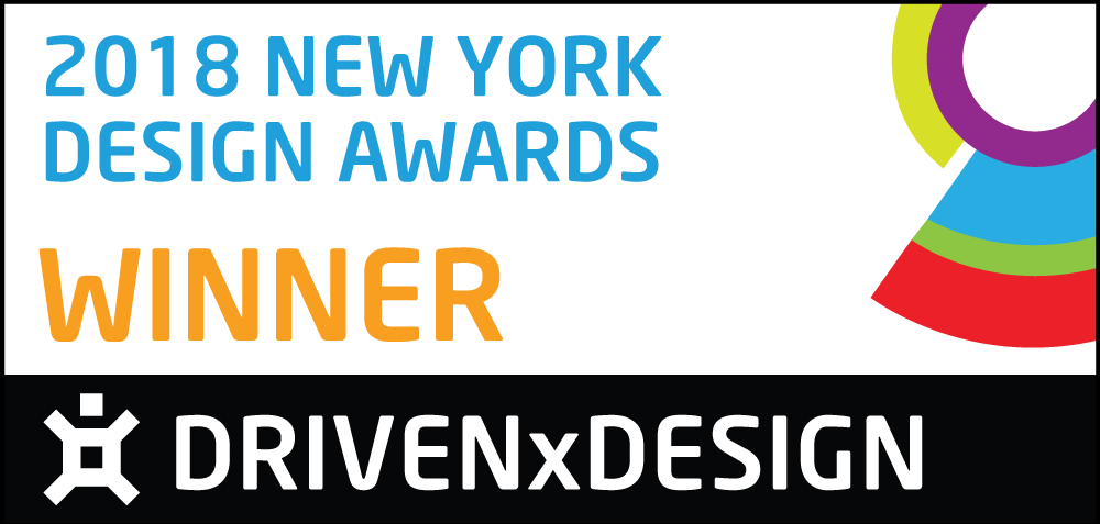 Winner The New York Design Awards 2018