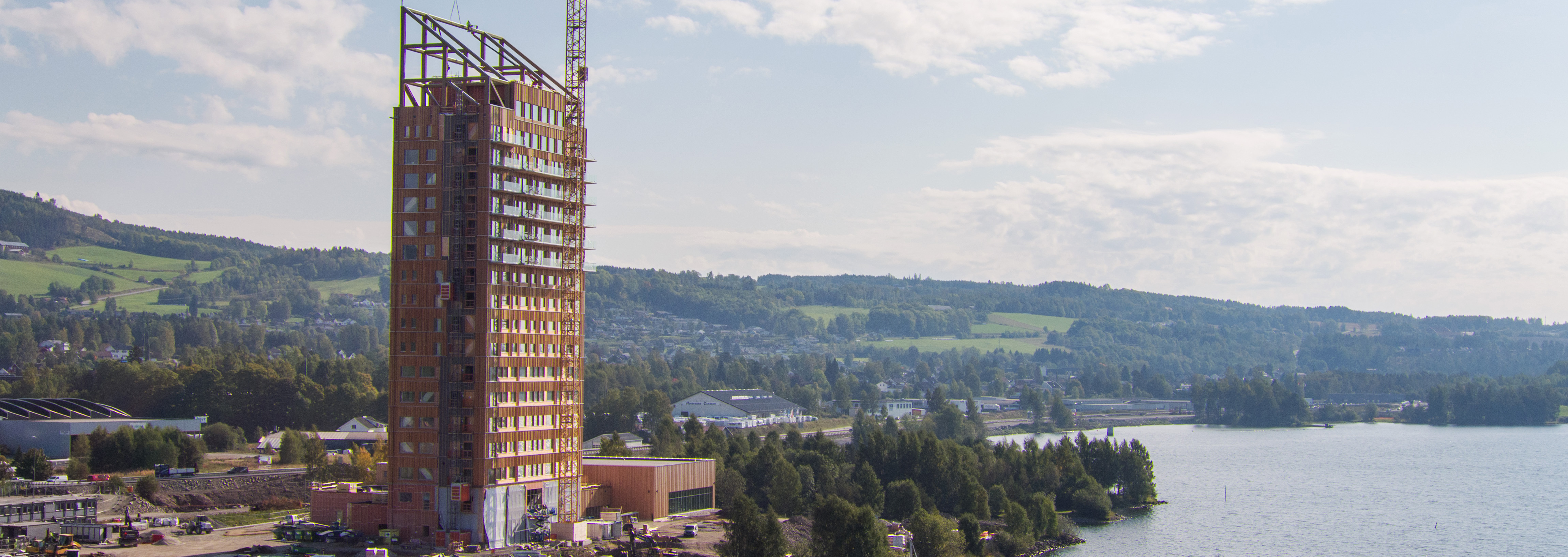 A renewable journey: From seed to the world's tallest timber building