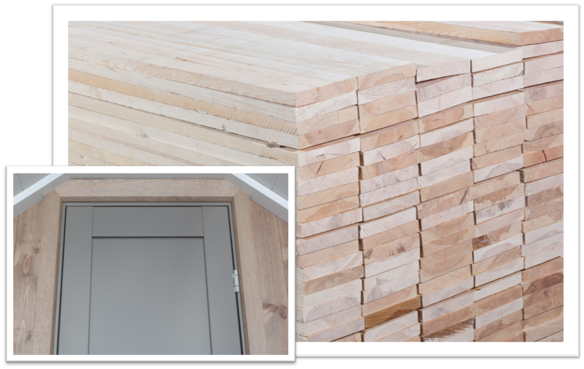 Sawn timber for joinery products